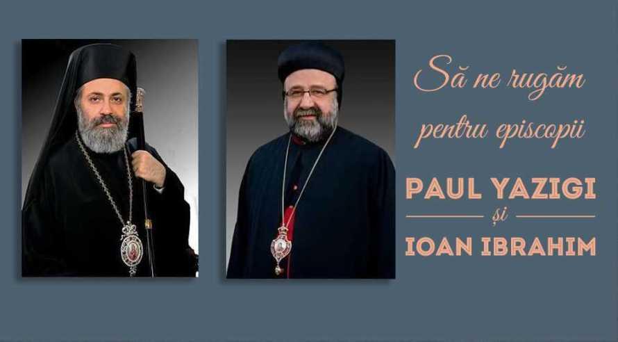 episcopii răpiţi în SIria