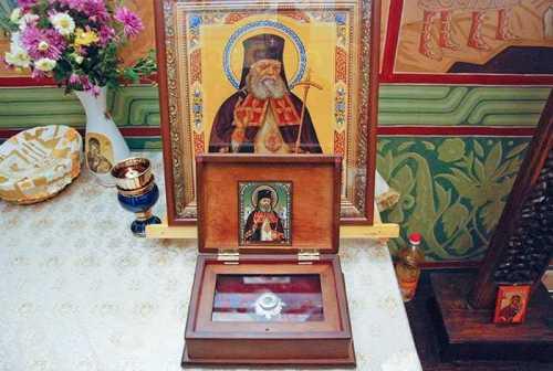 Moaştele Sf. Luca al Crimeii - Floreasca