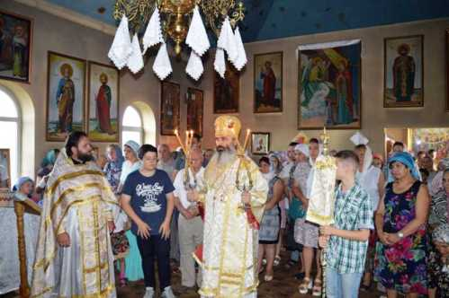 PS Antonie de Orhei la parohia Sfintii Brancoveni din Ialoveni 23 iulie 2017 (2)