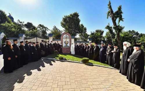 Patriarhul Daniel si membrii Sfantului Sinod al Bisericii Ortodoxe Romane au vizitat Parcul Resedintei Patriarhale (2)