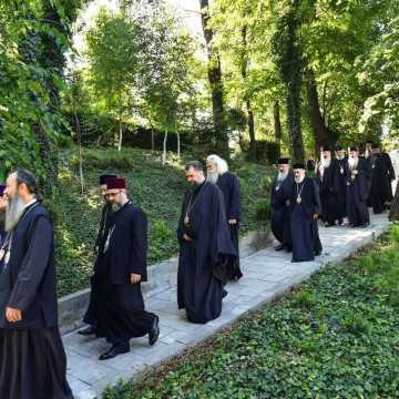 Patriarhul Daniel si membrii Sfantului Sinod al Bisericii Ortodoxe Romane au vizitat Parcul Resedintei Patriarhale (3)