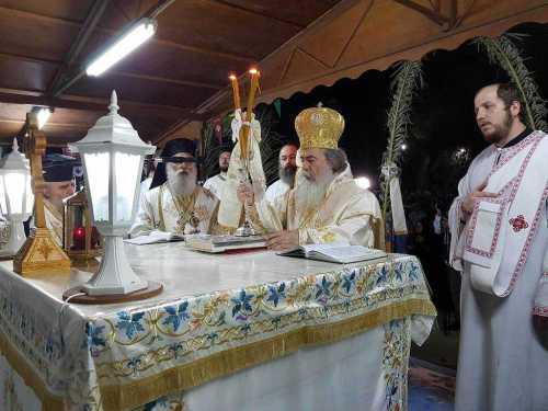 Slujire Patriarhul Ierusalimului pe Muntele Taborului (2)