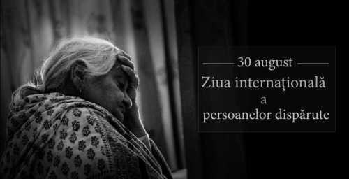 Ziua internatională a persoanelor dispărute