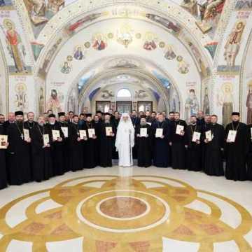Ședință aniversară la zece ani de slujire ca Patriarh al României (9)