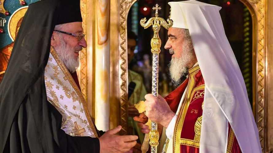 Patriarhul Daniel la Curtea de Arges