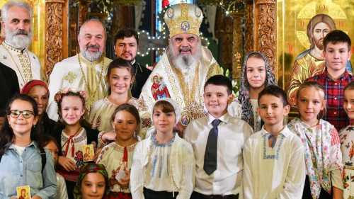 Patriarhul Daniel la sfintirea Bisericii Serban Voda din Bucuresti