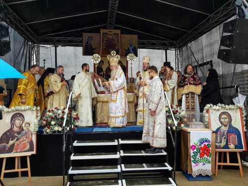 Piatră de temelie Biserică românească Viena