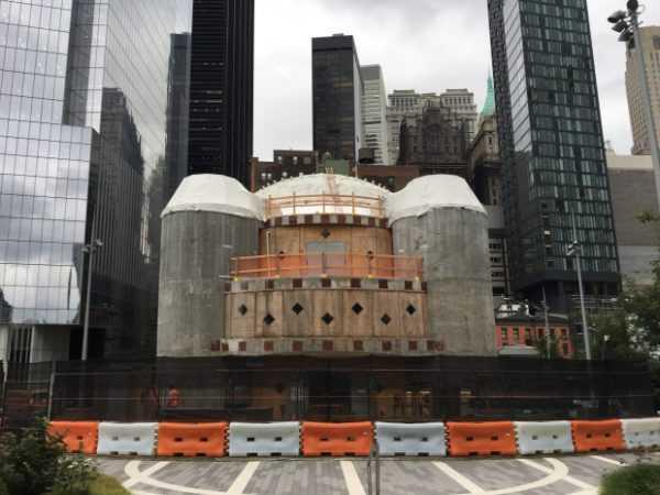 SUA Biserica ortodoxă greacă distrusă în atentatele din 2011 este reconstruită. Lucrările se apropie de final (4)