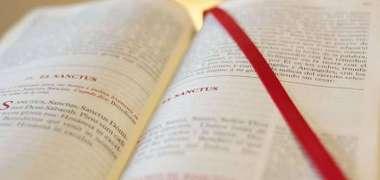 Hablamos con el Señor. Las oraciones de nuestro Misal.