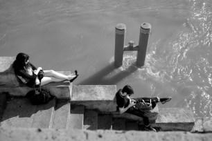 La Seine, Quai de la Mégisserie