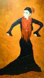 2020 Hiver Alain Shwartzman danseuse flamenco