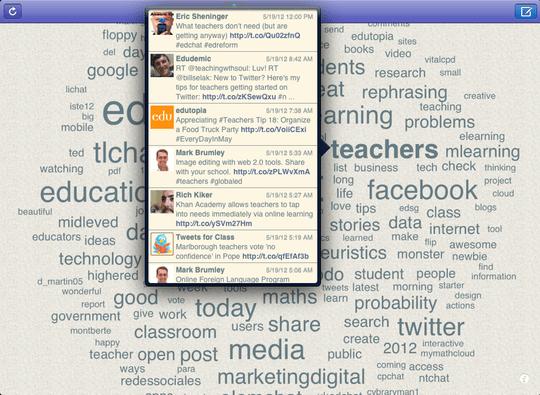 TweetaScope Screen Shot showing