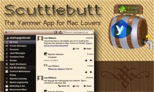 Scuttlebutt: The Yammer App for Mac Lovers