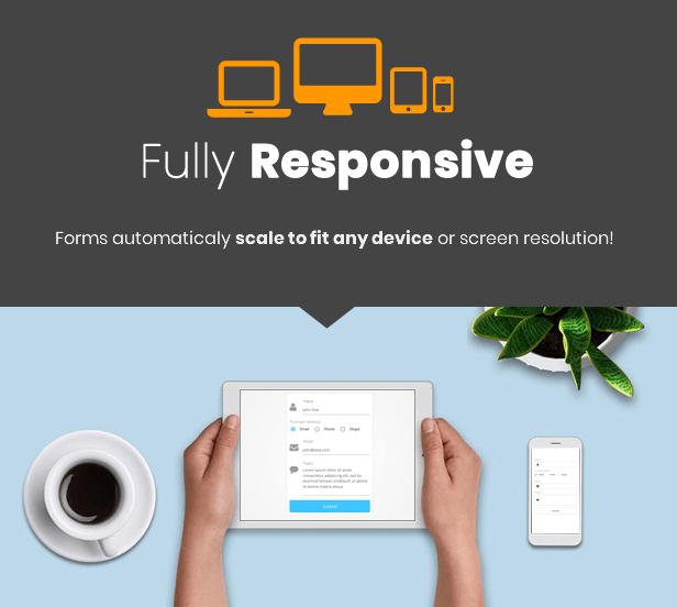 Best WordPress Form Builder Plugin - Responsive Forms