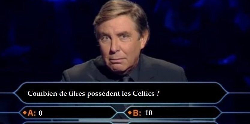 Dfi Qui Veut Gagner Des Millions Version NBA Dition Boston Celtics