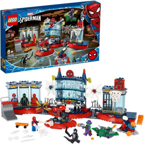 LEGO Marvel Super Heroes - Aanval op de Spider schuilplaats 76175