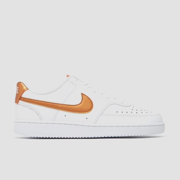 Nike Nike court vision low sneakers wit/goud dames dames