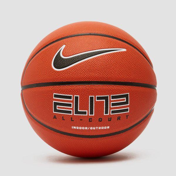 Nike Nike elite all court 8-panel basketbal oranje/zwart kinderen