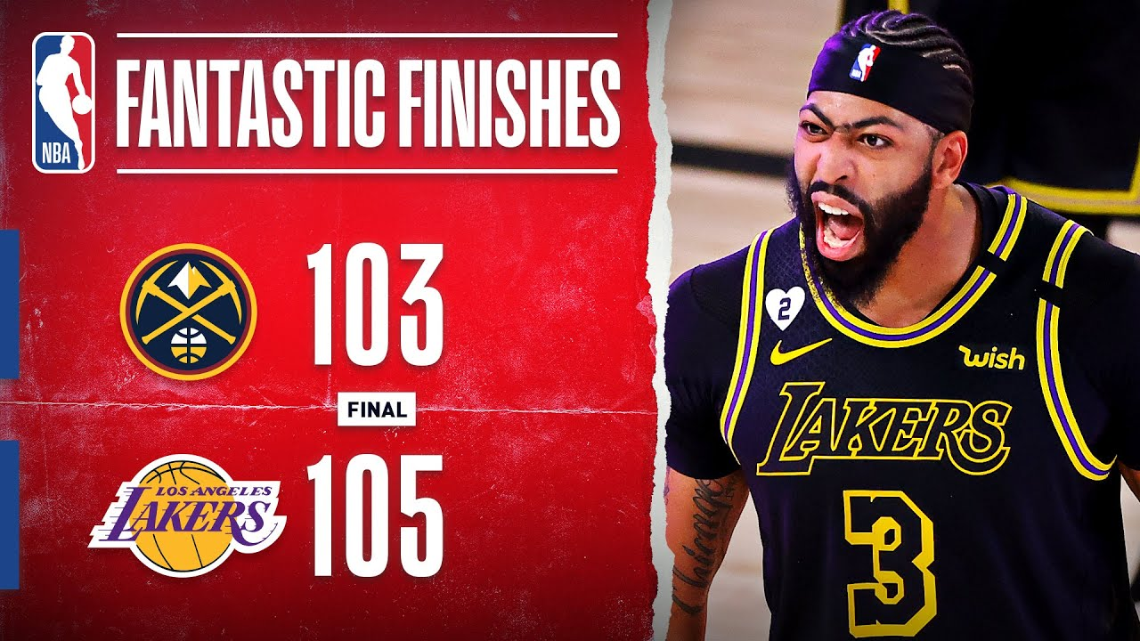 Lakers Take 2-0 Series Lead Off AD's Game-Winning Triple‼