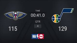 Pelicans @ Jazz | NBA on TNT Live Scoreboard