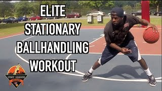 Stationary Ball Handling Drills For Basketball