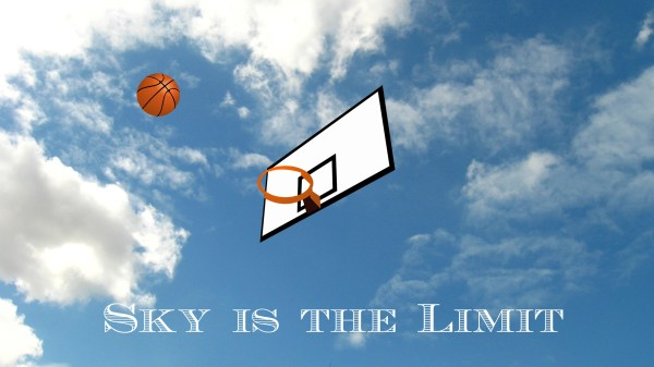 basketball sky is the limit