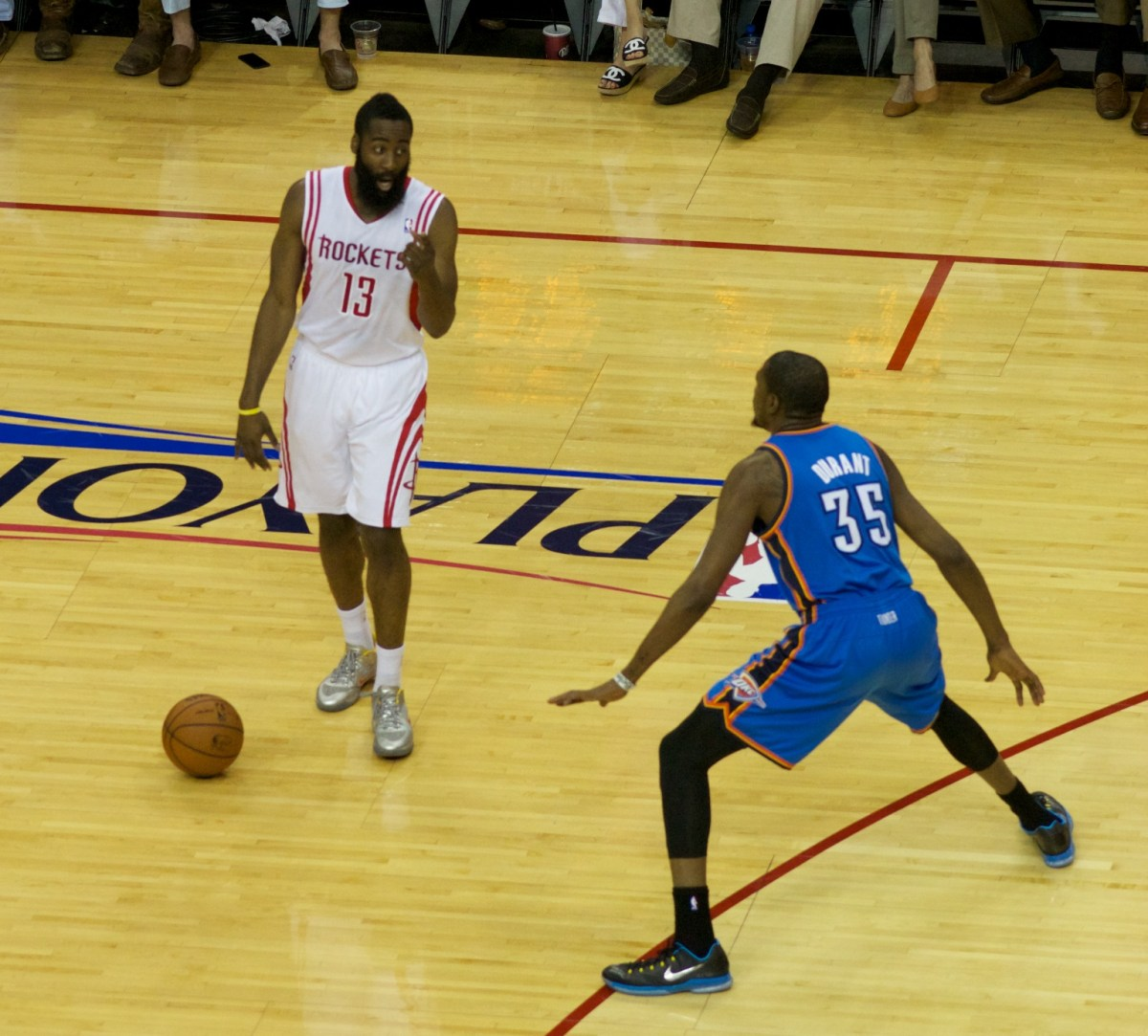 James Harden In Okc: Double Crossover Dribble By James Harden