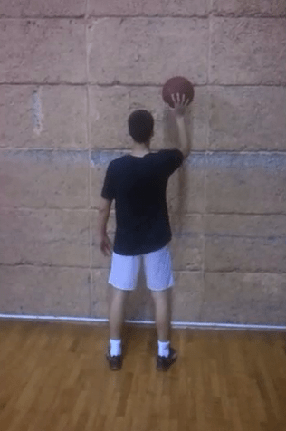One Ball Basketball Dribbling Drill Using Wall - Right Hand