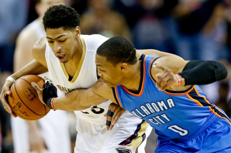 The Craziest NBA Finals in History-Westbrook and Davis fight for eighth place in the Western Conference