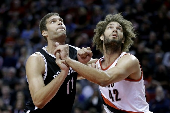 Brook Lopez and Robin Lopez