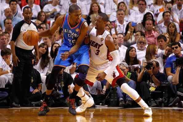Kevin Durant & Dwyane Wade NBA