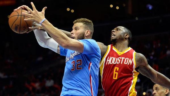 Blake Griffin and Terrence Jones