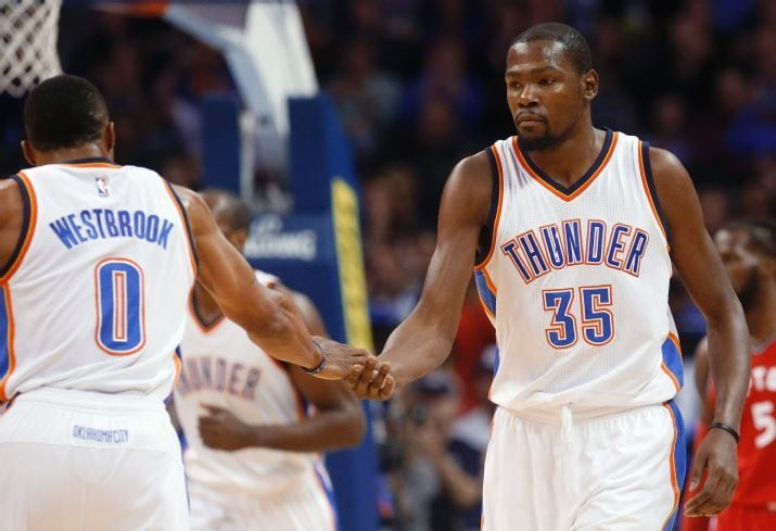 ad620ee6ec89 Kevin Durant calls Russell Westbrook  our best player