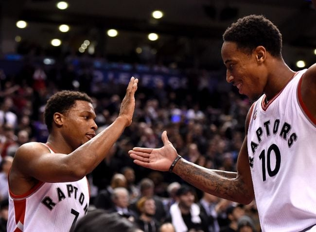 Toronto Raptors, Kyle Lowry, DeMar DeRozan