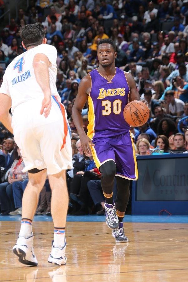 Los Angeles Lakers, Oklahoma City Thunder, Julius Randle