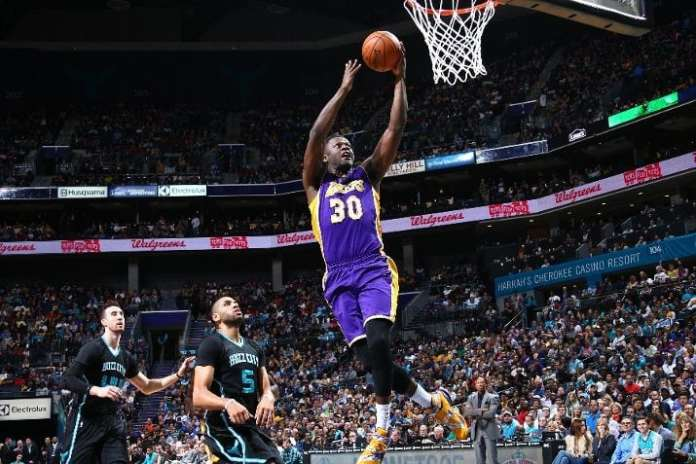 Los Angeles Lakers, Charlotte Hornets, Julius Randle