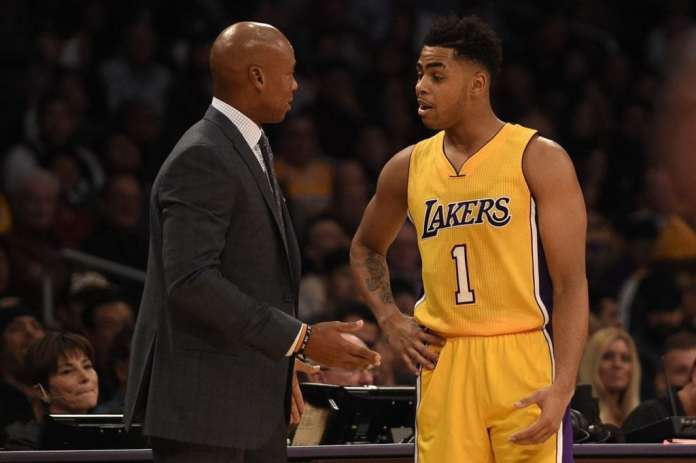 Los Angeles Lakers, Byron Scott, D'Angelo Russell