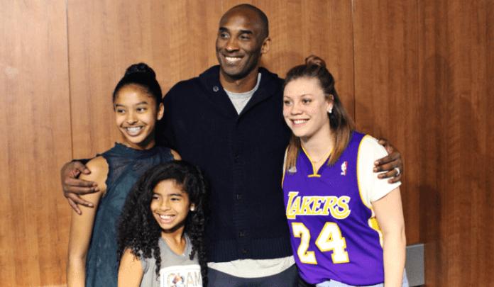 Kobe Bryant and Rachel Banham