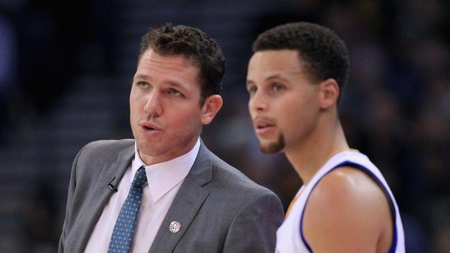 Luke Walton, Stephen Curry, Golden State Warriors