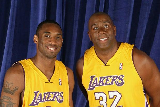 Magic Johnson & Kobe Bryant