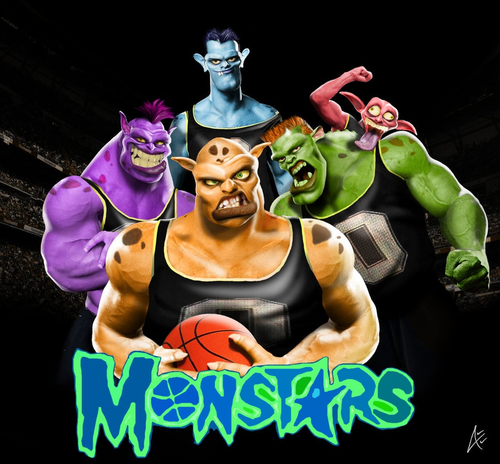 My Monstars Squad For Space Jam 2
