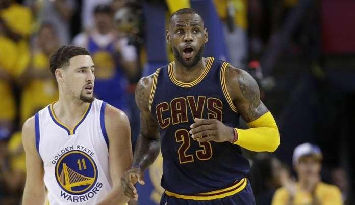Golden State Warriors, Cleveland Cavaliers, LeBron James