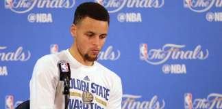 Stephen Curry, Golden State Warriors, 2016 NBA Finals