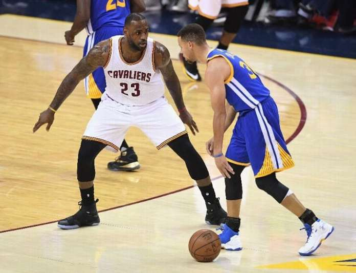 Golden State Warriors, Cleveland Cavaliers, Stephen Curry, LeBron James