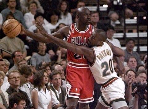 Michael Jordan vs. Gary Payton