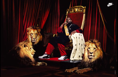 lebron throne