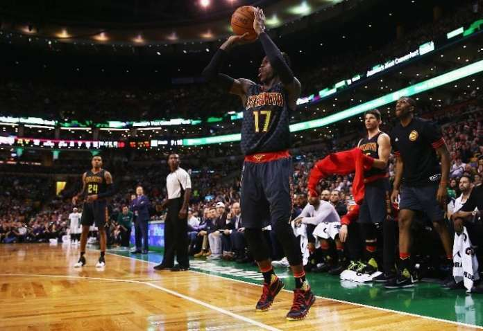 With Jeff Teague of out mix in Atlanta, will Dennis Schroder lead this team to success? (Photo by Maddie Meyer/Getty Images)