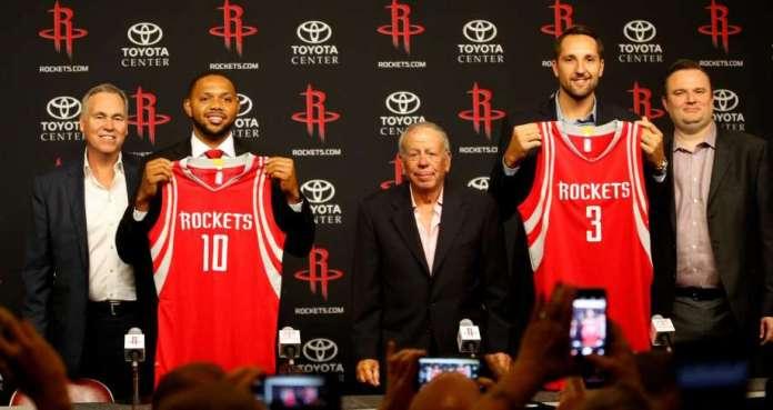 Houston Rockets, Eric Gordon, Ryan Anderson