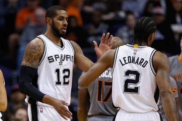 San Antonio Spurs, Kawhi Leonard, LaMarcus Aldridge