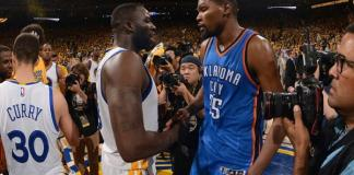 Draymond Green & Kevin Durant